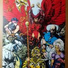 X-Men Unlimited Marvel Comic Poster by Liam Sharp