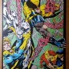 X-Men Wolverine Cyclops Jean Grey Banshee Iceman Marvel Poster by Jim Lee