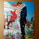 Cyclops Jean Grey Wedding X-Men Marvel Comics Mini Poster by Andy Kubert