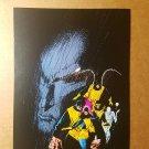 Original X-Men Marvel Comics Mini Poster by Bill Sienkiewicz