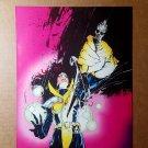 X Universe X-Men Marvel Comics Mini Poster by Bill Sienkiewicz