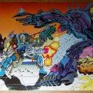 Cable X-Men Marvel Comics Poster by Richard Bennett