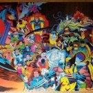 Fatal Attractions X-Men Marvel Comics Poster by John Romita Jr