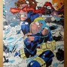 Cyclops X-Men Marvel Comic Poster by Chris Bachalo