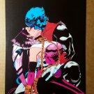 Nightcrawler Kiss ExCalibur X-Men Marvel Comics Mini Poster by Michael Golden