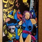 Wolverine Psylocke Bishop X-Men Marvel Comics Mini Poster by Ted McKeever
