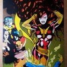Phoenix Cyclops Wolverine Colossus Nighcrawler Marvel Poster by Adam Hughes