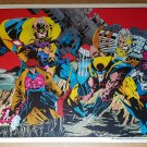 X-Men Wolverine Strong Guy Gambit Psylocke Cable Marvel Poster by Joe Quesada