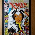 Classic X-Men 3 Storm Avengers Marvel Comics Mini Poster by Arthur Adams