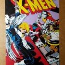 Vintage X-Men Storm Rogue Collossus Marvel comics Mini Poster by Paul Smith