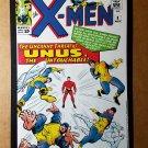 Vintage X-Men Unus Marvel Comics Mini Poster by Jack Kirby
