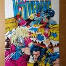 Wolverine Gambit Jubilee ninjas X-Men Marvel Comic Mini Poster by Marc Silvestri