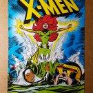 X-Men 101 Storm Cyclops Phoenix X-Men Marvel Comics Mini Poster by Dave Cockrum