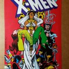 X-Men Dracula vampire Marvel Comics Mini Poster by Bill Sienkiewicz