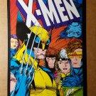 X-Men Wolverine Gambit Rogue Psylocke Marvel Comics Mini Poster by Jim Lee