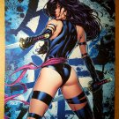Psylocke 3 Uncanny X-Men Elizabeth Braddock Marvel Comics Poster by David Finch