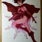 Avengers Scarlet Witch Marvel Comic Poster by Jelena Kevic Djurdjevic