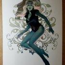 Namora Agents of Atlas Marvel Comics Poster by Jelena Kevic Djurdjevic