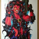 Red She Hulk Elizabeth Rose Marvel Comics Poster by Ian Churchill