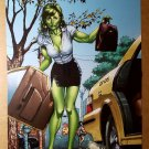 She-Hulk Marvel Comics Poster by Michael Del Mundo