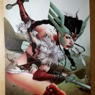 Sif Avengers Thor Marvel Comic Poster by Travel Foreman