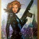Black Widow Avengers Marvel Comics Poster by Greg Land