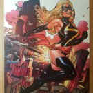 Ms Marvel House of M Marvel Comics Poster by Terry Dodson