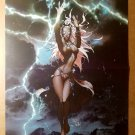 Storm X-Men Ororo Munroe Black Panther 2 Marvel Comics Poster by Michael Turner