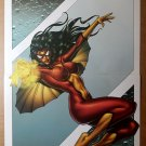 Spider-Woman Marvel Comics Poster by Andrea Divito