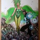Polaris Havok X-Men Marvel Comic Poster by Billy Tan