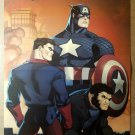 Captain America Bucky Wolverine Origins Marvel Comics Poster by Ed McGuinness