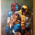 Mystique Wolverine X-Men Marvel Comics Poster by Ron Garney
