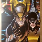 Wolverine Kitty Pryde Colossus Storm Marvel Comics Poster by David Williams