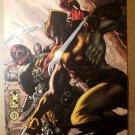 Wolverine vs Deadpool X-Men Marvel Comics Poster by Simone Bianchi