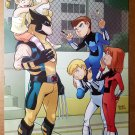 Wolverine Power Pack Marvel Comics Poster by Gurihiru