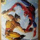 Wolverine Vs Spider-Man Marvel Comic Poster by John Romita Jr