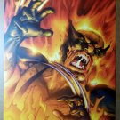 Wolverine Burning Marvel Comic Poster by Scott Kollins