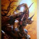 Wolverine Captain America Marvel Comics Poster by Gabriele Dell Otto
