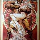 Wolverine Emma Frost Marvel Comics Poster by Joe Quesada