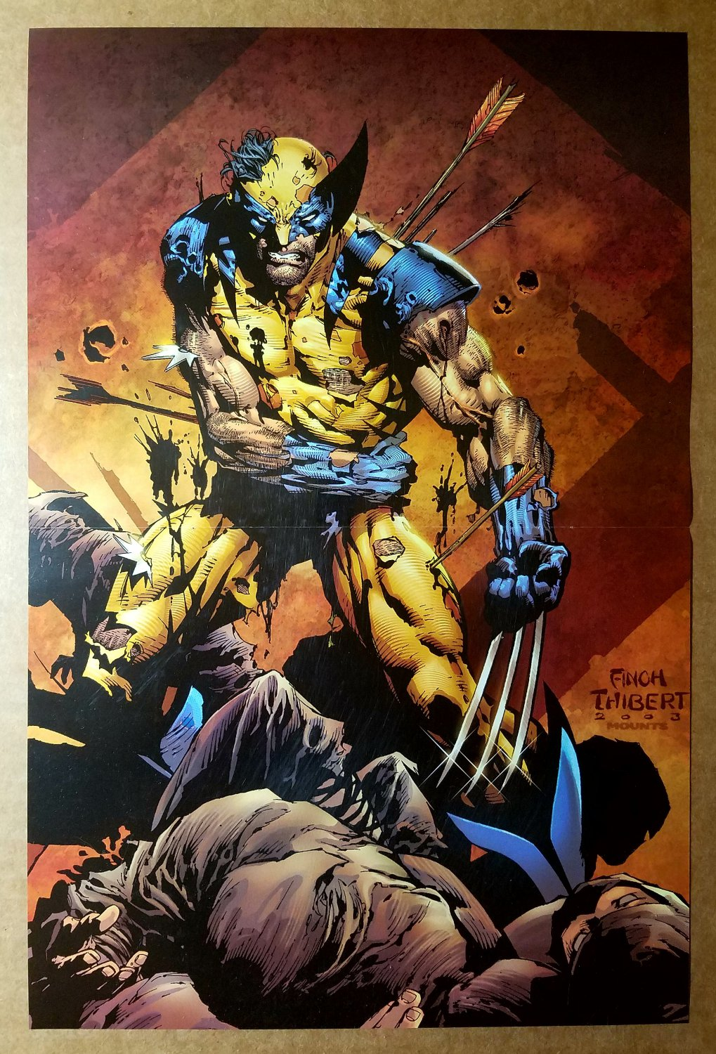 Wolverine Logan The End Marvel Comics Poster by David Finch