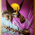 Wolverine Slashes Marvel Comics Presents Poster by John Byrne