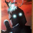 Wolverine Vs Sentinel X-Men Marvel Comics Poster by Salvador Larroca