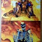 Wolverine Adamantium burning Marvel Comics Poster by Humberto Ramos