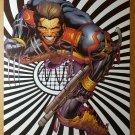 Wolverine with gun Marvel Comics Poster by Joe Quesada