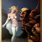 Emma Frost Wolverine X-Men Marvel Comics Poster by Gary Frank
