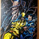 Wolverine Jubilee Marvel Comic Poster by Mark Texeira