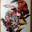 Wolverine Lady Deathstrike Marvel Comics Poster by Jae Lee