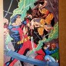 Wolverine Kitty Pryde Vs Warpath X-Men Marvel Comics Mini Poster by Matthew Ryan