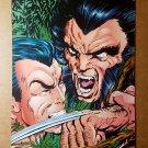 Wolverine Vs Nomar X-Men Marvel Comics Mini Poster by John Byrne
