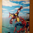 Wolverine Vs Spider-Man X-Men Marvel Comics Mini Poster by Erik Larsen